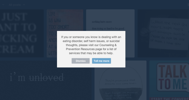 """Tumblr search """"suicide"""""""